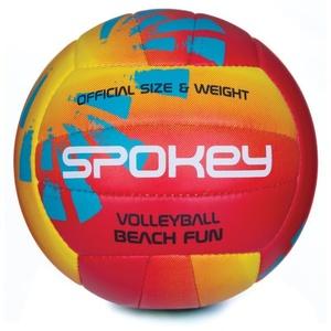 Volejbalový lopta Spokey BEACH FUN červeno-žltý č.5, Spokey