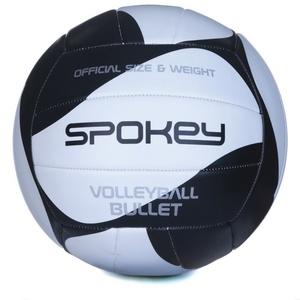 Volejbalový lopta Spokey BULLET čierno-biely, Spokey