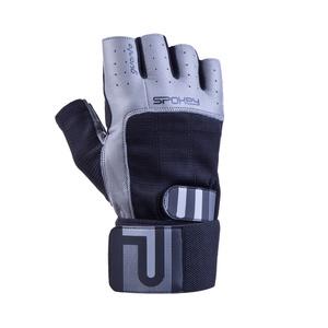 Fitness rukavice Spokey GUANTO II čierno-šedé, Spokey