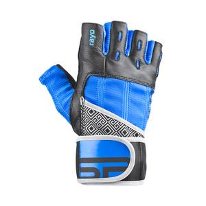 Fitness rukavice Spokey RAYO III čierno-modré, Spokey