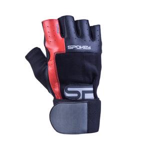 Fitness rukavice Spokey TORO II čierno-červené, Spokey