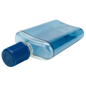 Fľaša Nalgene Flask Blue with Blue Cap 2181-0007, Nalgene