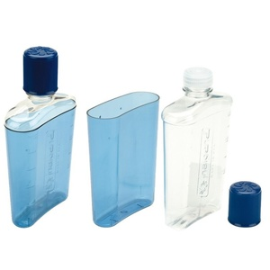 Fľaša Nalgene Flask Blue with Blue Cap 2181-0007, Nalgene