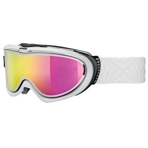 Lyžiarske okuliare Uvex COMANCHE Take off pola, white / litemirror pink (1026), Uvex