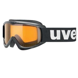 Lyžiarske okuliare Uvex snowcat, black / lasergold lite (2019), Uvex