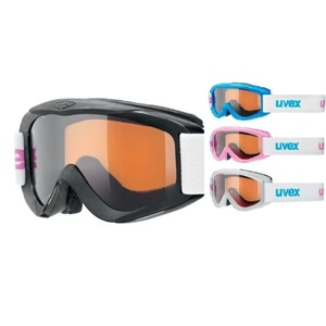 Lyžiarske okuliare Uvex SNOWY PRO SET, polarwhite / black / iceblue / pink, Uvex