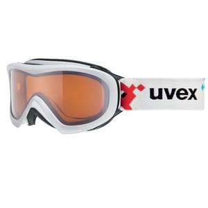 Lyžiarske okuliare Uvex WIZZARD DL, white pacman double lens / lasergold (1022), Uvex