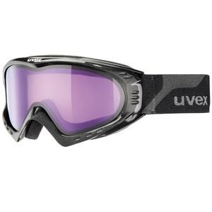 Lyžiarske okuliare Uvex F 2, black met/ psycho (2124), Uvex