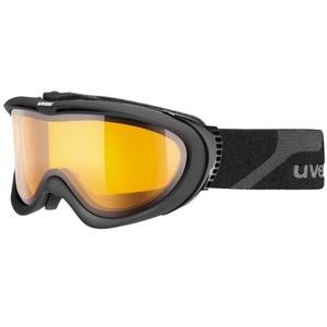 Lyžiarske okuliare Uvex UVEX COMANCHE, black mat / lasergold lite (4229), Uvex