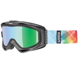 Lyžiarske okuliare Uvex G.GL 300 TAKE OFF, black mat / litemirror green (2126), Uvex