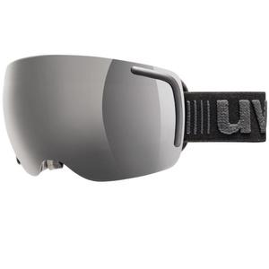 Lyžiarske okuliare Uvex BIG 40 FM, white mat double lens / full mirror pink (1026), Uvex