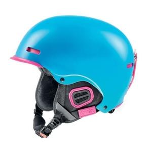 Lyžiarska helma UVEX HLMT 5 PRO, cyan / pink mat (S566146940*), Uvex