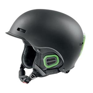 Lyžiarska helma UVEX HLMT 5 PRO, black-green mat (S566146270*), Uvex