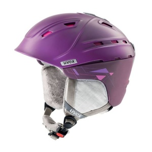 Lyžiarska helma UVEX P2US WL, purple / pink mat (S566178900*), Uvex