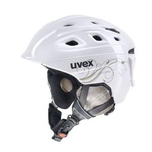 Lyžiarska helma UVEX Funride 2 LADY, white / gold (S566150160*), Uvex