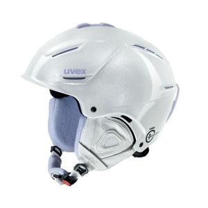 Lyžiarska helma UVEX P1US PRO WL, white skyfall (S566179100*), Uvex