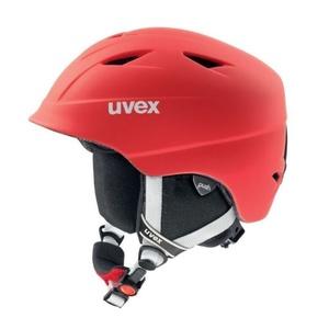 Lyžiarska helma UVEX AIRWING 2 PRO, red mat (S566132300*), Uvex