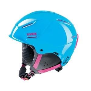Lyžiarska helma UVEX P1US JUNIOR, cyan-pink (S566180490*), Uvex