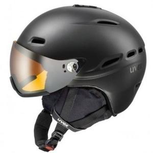 Lyžiarska helma UVEX HLMT 200, black mat (S566176440*), Uvex