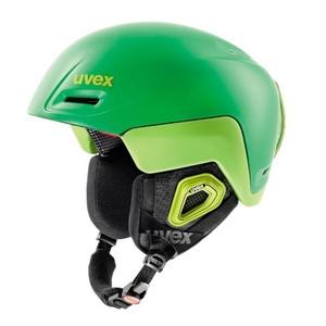 Lyžiarska helma UVEX JIMM OCTO +, green-lemon mat (S566205320*), Uvex