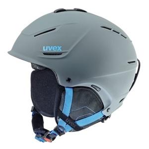 Lyžiarska helma UVEX P1US, grey-blue mat (S566153540*), Uvex