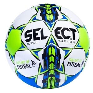 futsalový lopta Select FB Futsal talento 13 bielo modrá, Select
