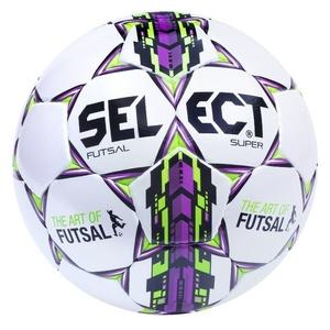 futsalový lopta Select FB Futsal Super bielo fialová, Select