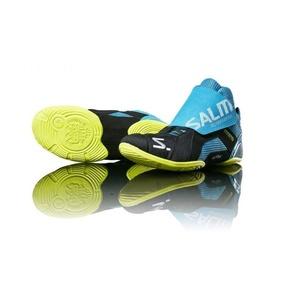 Topánky Salming Slide 5 Goalie Shoe Cyan / Black, Salming