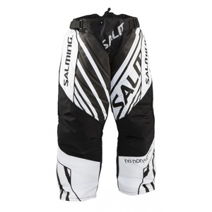 Brankárske nohavice Salming Phoenix Goalie Pant JUNIOR Black/White, Salming