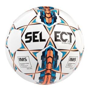 Lopta Select Contra bielo oranžová, Select