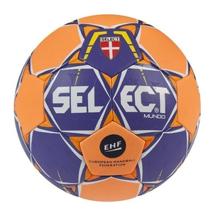Lopta Select Mundo fialovo oranžová, Select