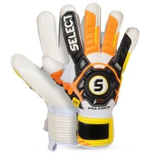 Brankárske rukavice Select Goalkeeper gloves 55 Xtra Force čierno žltá, Select