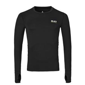 Kompresný triko Select Compression T-shirt L/S 6902 čierna, Select