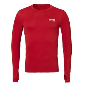 Kompresný triko Select Compression T-shirt L/S 6902 červená, Select