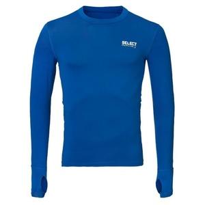 Kompresný triko Select Compression T-shirt L/S 6902 modrá, Select