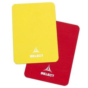 Karty pre rozhodca Select Referee cards červeno žltá, Select