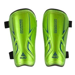 Chrániče holene Select Shin guards Standard zeleno modrá, Select
