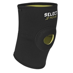 Bandáž kolena Select Knee support w / palice 6201 čierna, Select