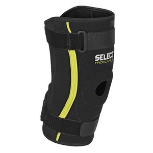 Bandáž kolena Select Knee support w / splints 6204 čierna, Select
