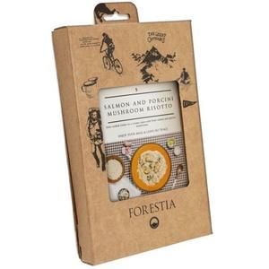 Jedlo Forestia Risotto s lososom a hubami porcini (s ohrievačom), Forestia