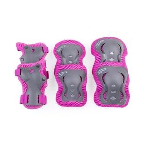 Sada detských chráničov Spokey SHIELD 3-dílná, ružové, Spokey