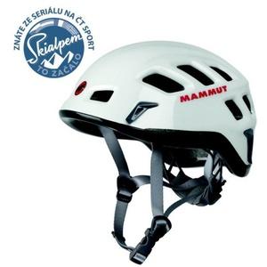 horolezecká helma Mammut Rock Rider white-smoke 0256, Mammut