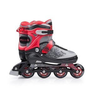 Kolieskové korčule Spokey SNAP šedo-červené, Spokey