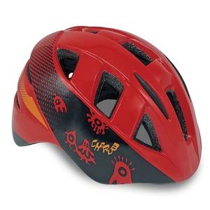 Detská cyklistická prilba Spokey CHERUB červená, 48-54 cm, Spokey