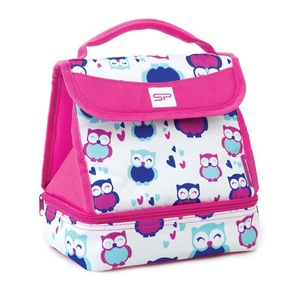 Desiatový box Spokey LUNCH BOX PINK, Spokey