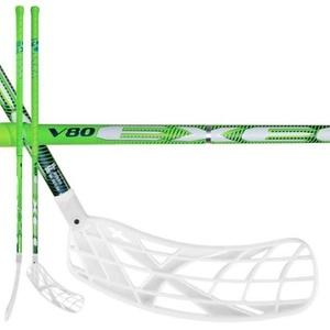 Florbalová palica V80 2.6 green 101 OVAL X-blade MB, Exel