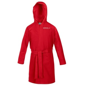 župan Speedo Bathrobe microfiber Junior Red 68-601je0004, Speedo