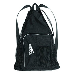 Vak Speedo Deluxe vent mesh bag xu Black/White 68-112343503, Speedo