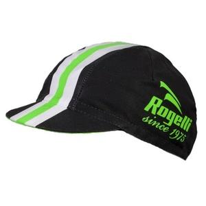 Športové šiltovka Rogelli RETRO, čierno-zelená 009.954., Rogelli