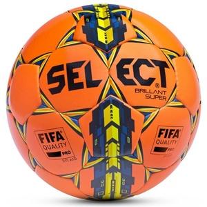 Lopta Select Brillant Super oranžovo žltá, Select